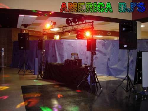 Ultra Light Show Package with double sound system for large venues